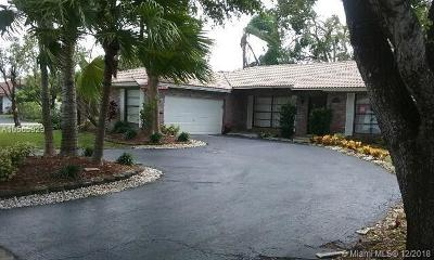 Coral Springs Single Family Home For Sale: 9902 NW 20th St