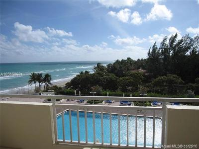 Hallandale Condo For Sale: 3180 S Ocean Dr #410