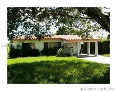 North Miami Single Family Home For Sale: 1282 NE 180th St
