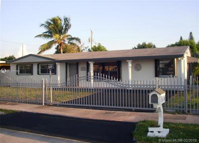Miami Gardens Single Family Home For Sale: 4410 NW 176th St