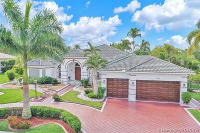 Davie Single Family Home For Sale: 13824 SW 42nd St
