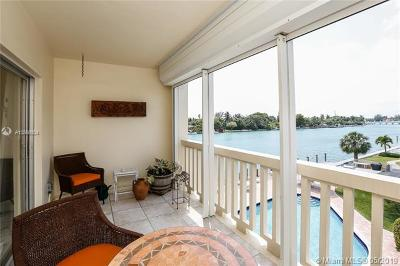 Bay Harbor Islands Condo For Sale: 9111 E Bay Harbor Dr #3C