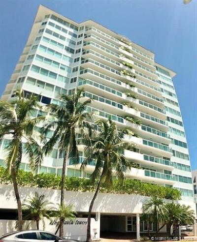 Miami Beach Condo For Sale: 3411 Indian Creek Dr #704
