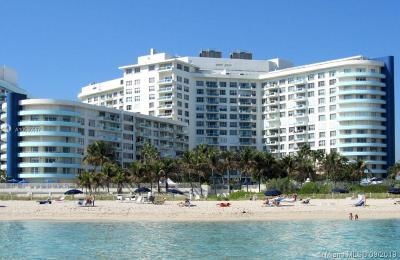 Miami Beach Condo For Sale: 5161 Collins Ave #910