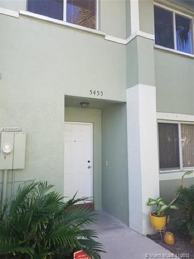 Pembroke Park Condo For Sale: 5455 SW 41st St #5455