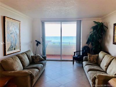 Hallandale Condo For Sale: 1936 S Ocean Dr #24C