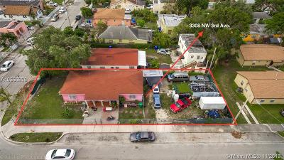 Multi Family Home For Sale: 3308 NW 3rd Ave