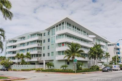 Miami Beach Condo For Sale: 7800 Collins Ave #309