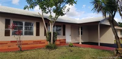 Tamarac Single Family Home For Sale: 9603 NW 74th Ct