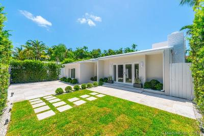 Miami Beach Single Family Home For Sale: 6071 N Bay Rd