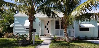 Lake Worth Single Family Home For Sale: 1011 N K St