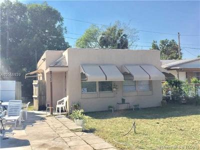 West Palm Beach FL Single Family Home For Sale: $130,000