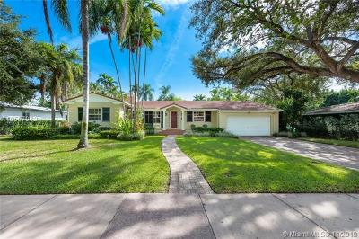 Coral Gables Single Family Home For Sale: 732 Aledo