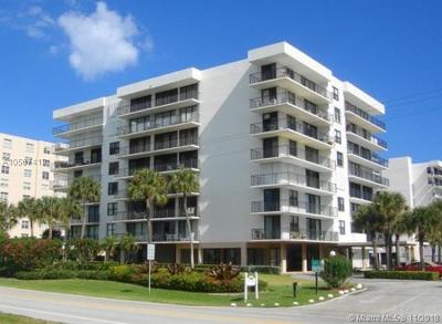 Palm Beach Condo For Sale: 3456 S Ocean Blvd #5040