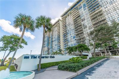 Charter Club, Charter Club Condo, Charter Club On The Bay Condo Active With Contract: 600 NE 36th St #802