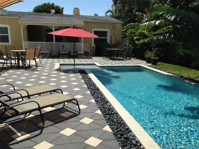 Pompano Beach Single Family Home For Sale: 3205 Canal Dr