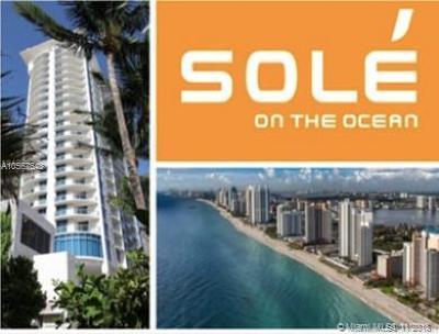Sunny Isles Beach Single Family Home For Sale: 17315 Collins Av #809
