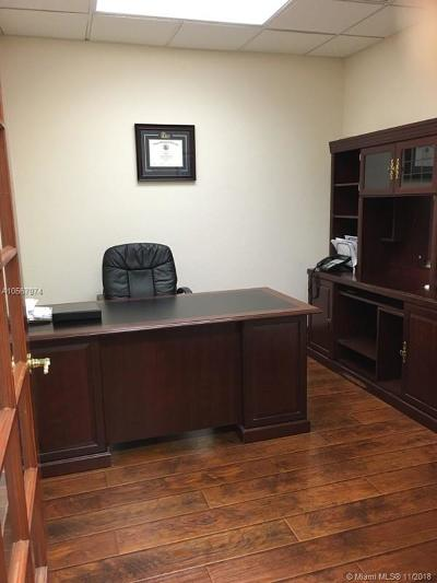 Miami Lakes Commercial For Sale: 7950 NW 155th St #203