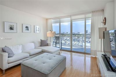 Miami Beach Condo For Sale: 1800 Sunset Harbour Dr #1003