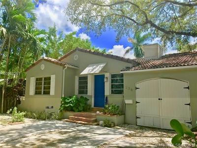 El Portal Single Family Home For Sale: 236 NE 85 St