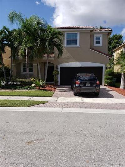 Coral Springs Single Family Home For Sale: 826 NW 127th Ave