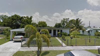 Miami Gardens Single Family Home For Sale: 16220 NW 19th Ave