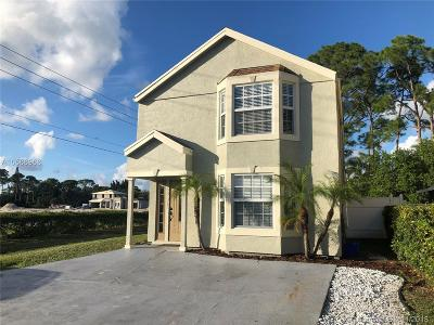 West Palm Beach FL Single Family Home For Sale: $228,900