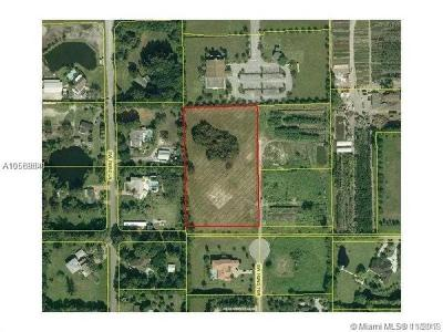 Broward County Residential Lots & Land For Sale: 4801 SW 192nd Ter