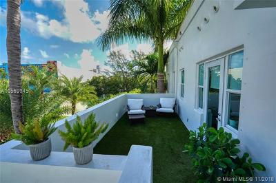 Miami Beach Condo For Sale: 4015 N Meridian Ave #3