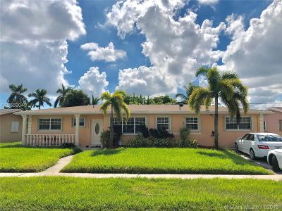 Miami Gardens Single Family Home For Sale: 1460 NW 175th Ter