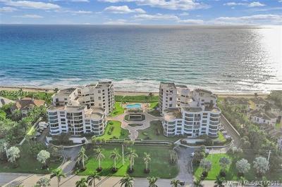 Highland Beach Condo For Sale: 2575 S Ocean Blvd #305S