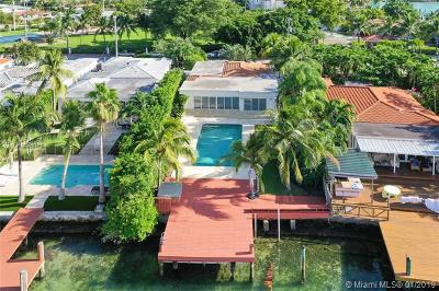 Miami Beach Single Family Home For Sale: 955 Stillwater Dr