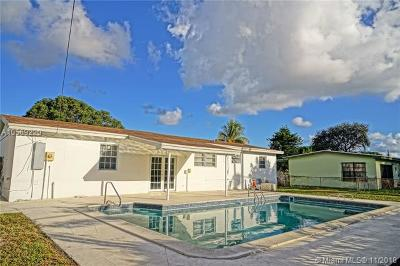 Miami Gardens Single Family Home For Sale: 18740 NW 11th Pl