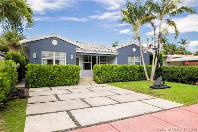 Miami Beach Single Family Home For Sale: 4345 Post Ave