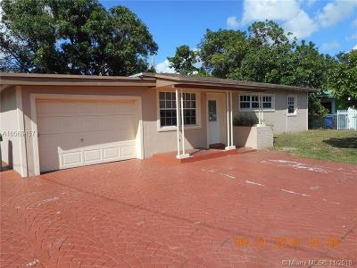 Miami Gardens Single Family Home For Sale: 3311 NW 171st Ter