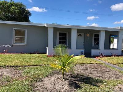 Miami Gardens Single Family Home For Sale: 16130 NW 21st Ave