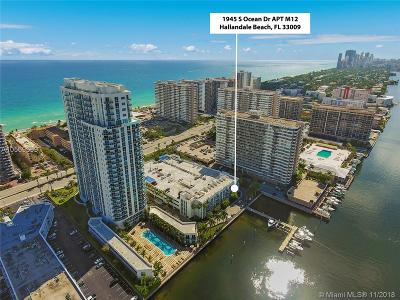 Hallandale Condo For Sale: 1945 S Ocean Dr #M12