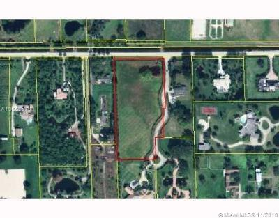 Broward County Residential Lots & Land For Sale: 6125 Stallion Way