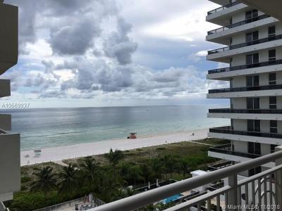 Miami Beach Condo For Sale: 5825 Collins Ave #9J