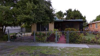 North Miami Single Family Home For Sale: 1331 NE 157th St