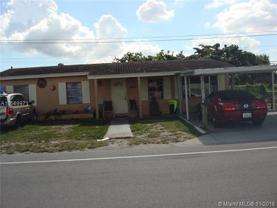 Miami Gardens Single Family Home For Sale: 1850 NW 167