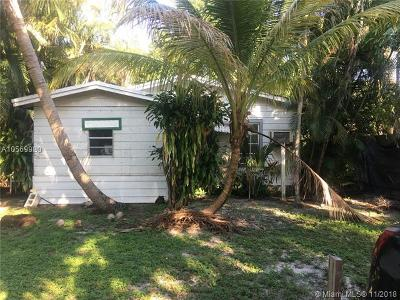 Fort Lauderdale Single Family Home For Sale: 1025 SW 15 Terrace