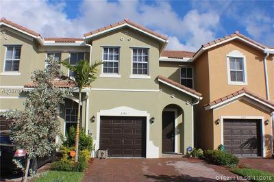 Homestead Condo For Sale: 2393 SE 14th St #2393