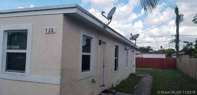 Dania Beach Multi Family Home For Sale: 728 SW 6th St