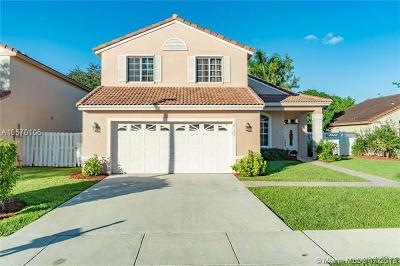 Pembroke Pines Single Family Home For Sale: 18123 NW 19th St