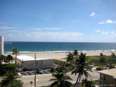 Pompano Beach Condo For Sale: 525 N Ocean Blvd #723