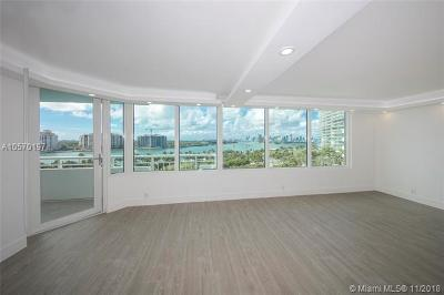 Miami Beach Condo For Sale: 400 S Pointe Dr #805