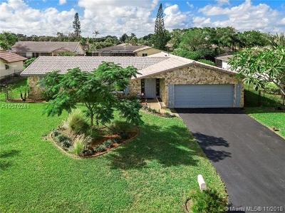 Coral Springs Single Family Home For Sale: 932 NW 83rd Dr