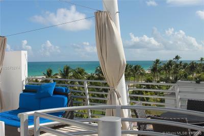 Miami Beach Condo For Sale: 1437 Collins Ave #PH07