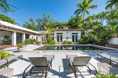 Miami Beach Single Family Home For Sale: 3100 Pine Tree Dr